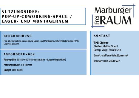TINK Objekte©Stadtmarketing Marburg e. V.