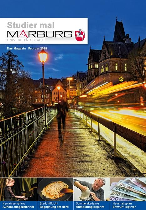 Das neue Studier mal Marburg ist da©Universitätsstadt Marburg