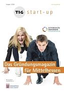 Titelblatt Gründungsmagazin Mittelhessen