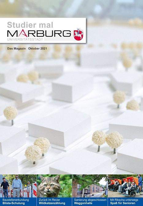 """Die Ausgabe von """"Studier mal Marburg"""" für Oktober ist da.©Universitätsstadt Marburg"""