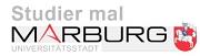 """Überschrift """"Studier mal Marburg"""""""