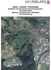 Übersicht Soziale Stadt Marburg / Ockershausen und Stadtwald©Universitätsstadt Marburg