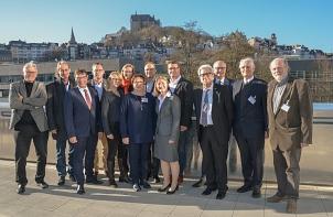 """Jurysitzung in Marburg: Vertreterinnen und Vertreter der 16 Lutherstädte haben hier die Trägerin des zwölften Preises """"Das unerschrockene Wort"""" bestimmt.©Universitätsstadt Marburg"""