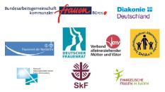 Unterzeichnende des Appells zum Internationalen Tag zur Beseitigung der Armut©Bundesarbeitsgemeinschaft kommunaler Frauenbüros