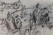 """Die Volkshochschule der Universitätsstadt Marburg bietet ab sofort einzelne Kurse, zum Beispiel zum """"Urban Sketching"""", in Präsenz an."""