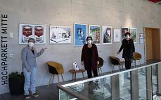 v.l.n.r. Karin Stichnothe-Botschafter (EPH), Stadträtin Kirsten Dinnebier, Elke Siebler, Fachdienst Altenplanung©Universitätsstadt Marburg