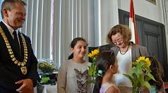 Christa Winter (r.) hat über 25 Jahre die Gleichstellungspolitik der Universitätsstadt Marburg geprägt.