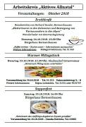 Veranstaltungen AK Allnatal 10_2018
