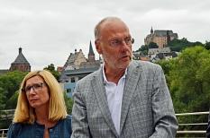 """Prof. Dr. Ulrich Wagner hat als wissenschaftlicher Leiter des Projekts """"Einsicht"""" maßgeblich an der Gesamtstrategie mitgearbeitet.©Stadt Marburg, Birgit Heimrich"""