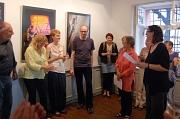 Vernissage der Fotoausstellung der Partnerstadt der Universitätsstadt Marburg - Sibiu - von Georg Kronenberg