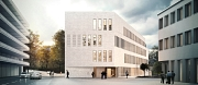 Diese Visualisierung zeigt, wie das zukünftige Deutsche Dokumentationszentrum für Kunstgeschichte am Pilgrimstein aussehen soll.