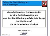Vortrag Machbarkeitsstudie Seilbahnanbindung Innenstadt und Campus Lahnberge©Universitätsstadt Marburg
