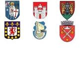 Wappen der Partnerstädte©Universitätsstadt Marburg