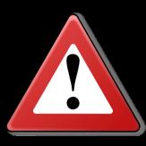 Ein rotes Warndreieck mit Ausrufezeichen in der Mitte.©CC BY-SA 3.0 Artem Karimov