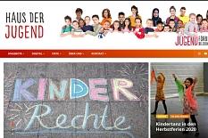 Ein Screenshot der Internetseite www.hausderjugend-marburg.de vom 29.09.2020.©Universitätsstadt Marburg