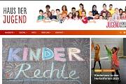 Ein Screenshot der Internetseite www.hausderjugend-marburg.de vom 29.09.2020.