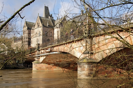 Weidenhäuser Brücke©Heiko Krause, i. A. d. Stadt Marburg
