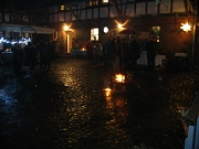 Weihnachtsmarkt auf Stöhrs Hoob bei Lagerfeuer