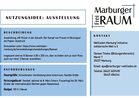 Weltladen/ Initiative Solidarische Welt e.V.©Stadtmarketing Marburg e. V.