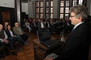 Bürgermeister Dr. Franz Kahle konnte im voll besetzten Rathaussaal auch zahlreiche Vertreter von Kooperationspartnern begrüßen.