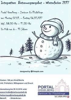 Winter-Ferienbetreuung©Universitätsstadt Marburg