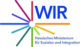 WIR Logo©Hessisches Ministerium für Soziales und Integration