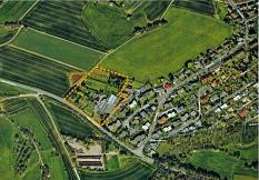 Statt des großen Wohngebiets wird in Marbach nun nur die Fläche der ehemaligen Gärtnerei entwickelt - für einen Supermarkt sowie ein 30-40 Einheiten als Geschosswohnungsbau direkt daneben.©Universitätsstadt Marburg