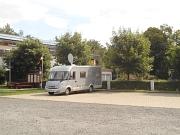 Wohnmobil auf dem Rosenthaler Stellplatz
