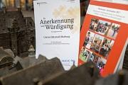 """""""In Würdigung und Anerkennung"""": Das Bundesministerium für Arbeit und Soziales lobt den Aktionsplan zur Umsetzung der UN-Behindertenrechtskonvention der Stadt Marburg."""