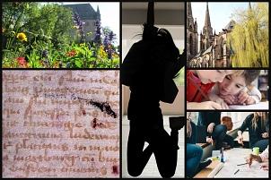 Zum Tag der Stadtgeschichte lädt Marburg800 alle Schüler*innen ein, mit ihrem eigenen Schulprojekt dabei zu sein.©Foto: LB Hannover, pixabay, Mesh/Cooigmans, unsplash