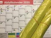 Zustellung Abfallkalender 2020 und gelber Säcke