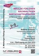 Flyer Zweiter Marburger Dialog zur Verkehrsentwicklung